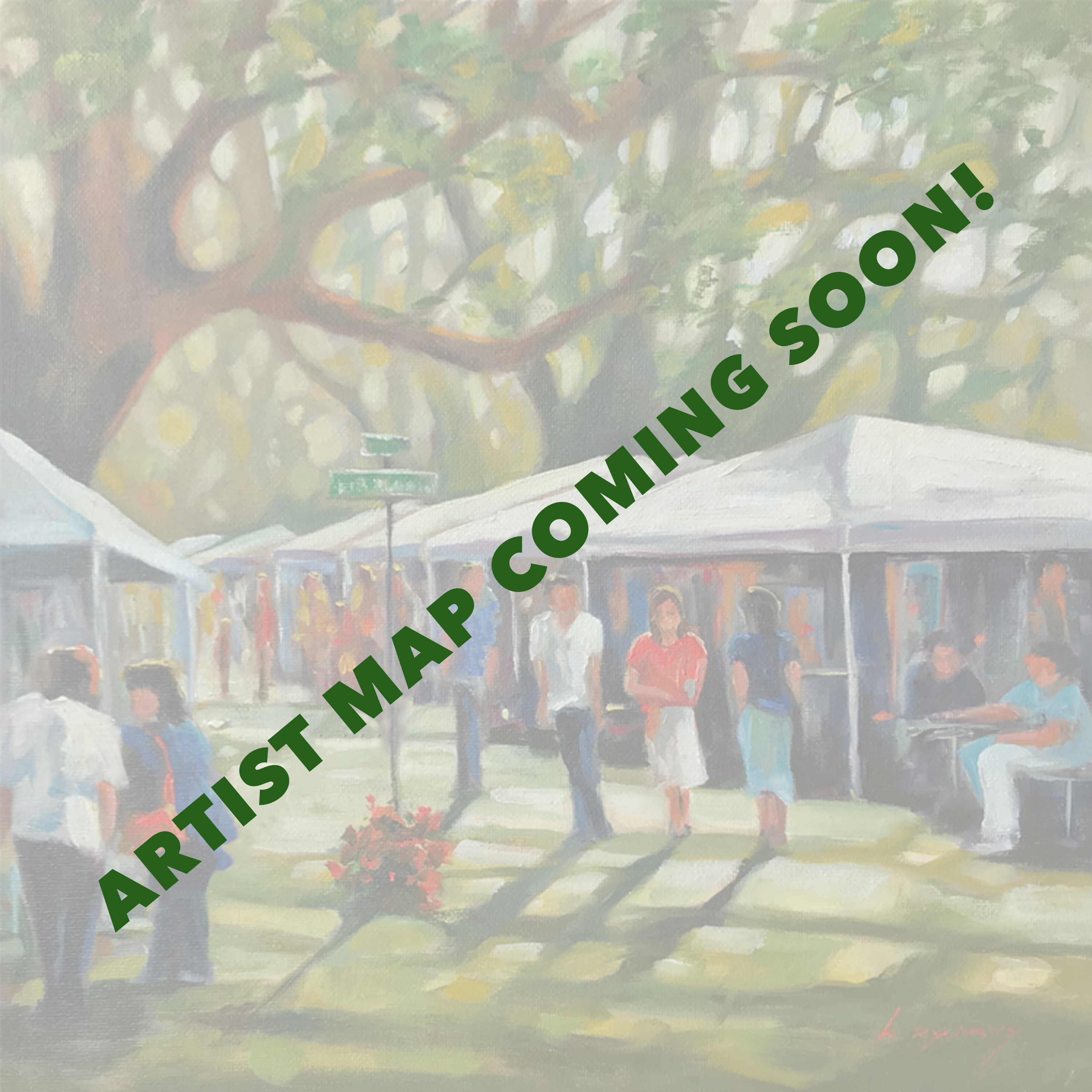 ARTIST MAP COMING SOON